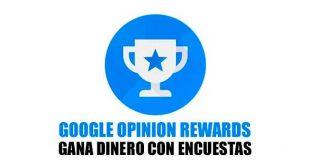 Google Opinion Rewards paga